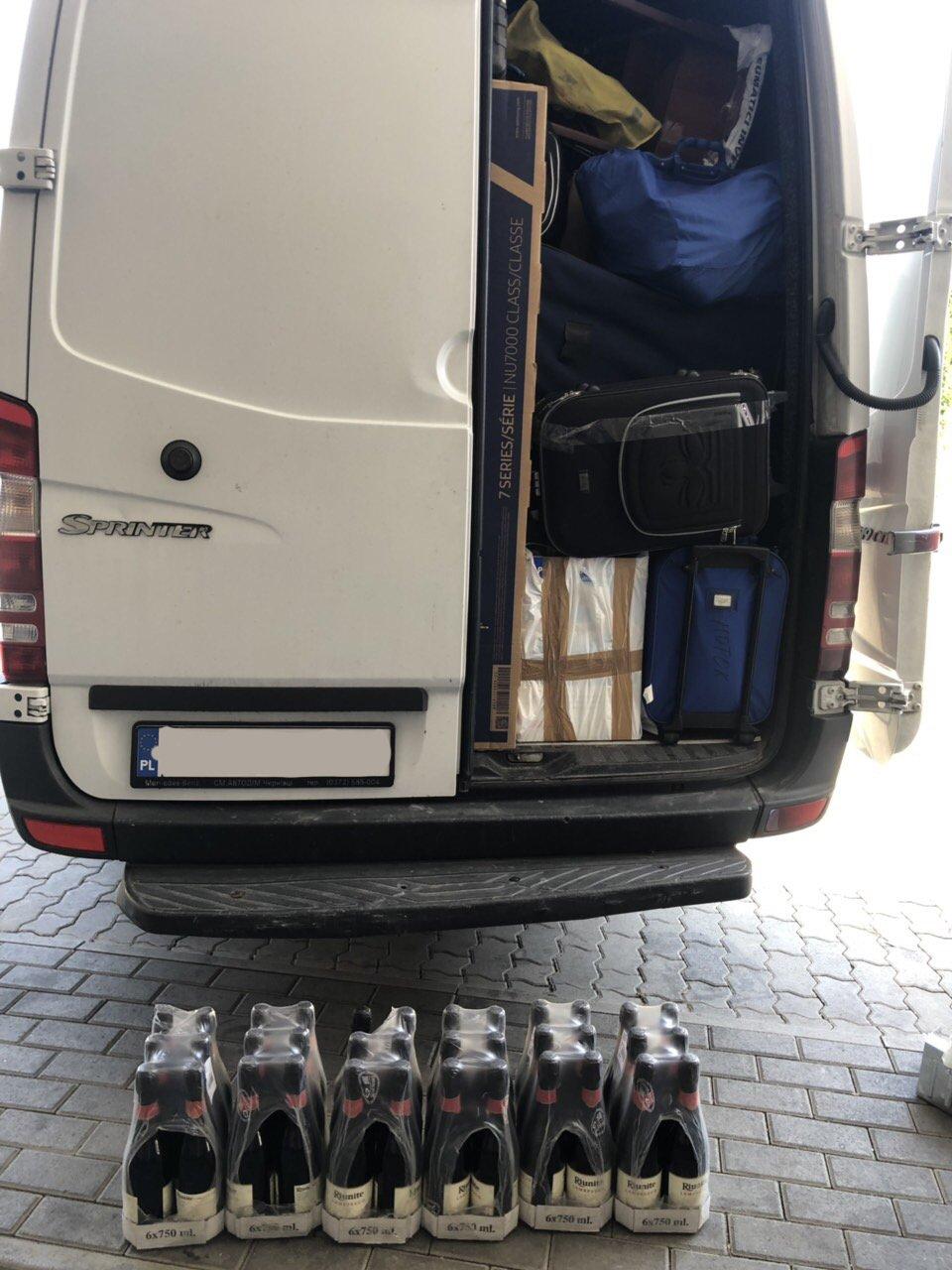 Иностранную продукцию из Европы не разрешили перевезти в Закарпатье