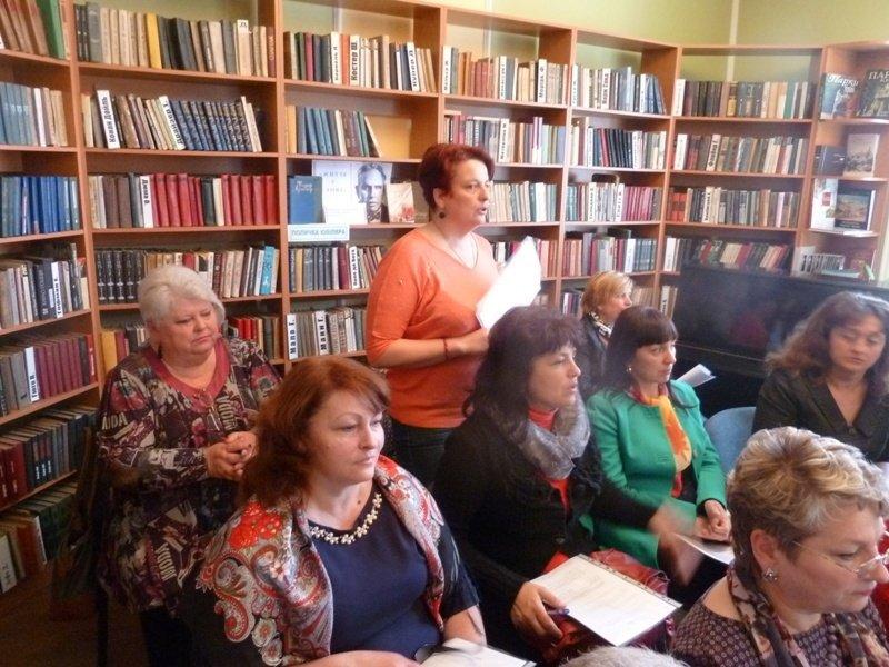 Член президії профспілки культури Закарпаття Вікторія Гойс-Шайбакова