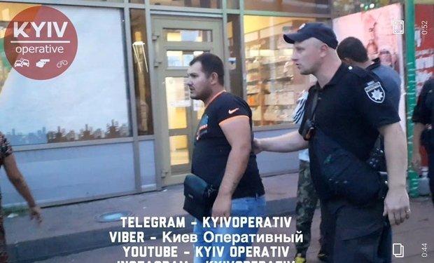 Цыган из Закарпатья не могут контролировать копы в Киеве