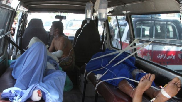 Еще 73 человека доставлены в местную больницу