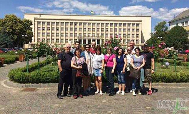 Як наші молоді туризмознавці словаків із Ужгородом знайомили