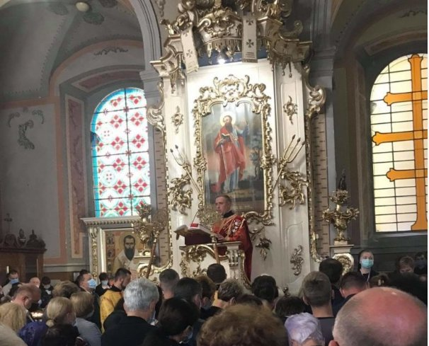 На Закарпатті офіційно презентували адміністратора Мукачівської греко-католицької єпархії