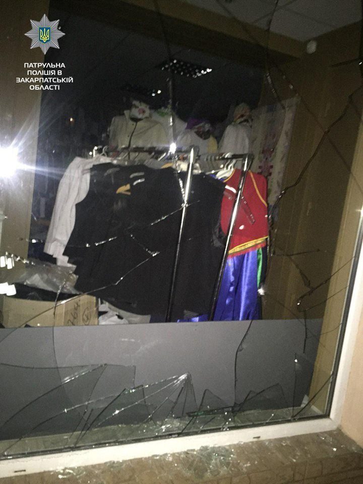 В Ужгороді крадій, втікаючи з місця злочину, потрапив під авто