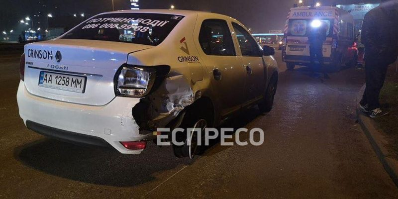Элитный автомобиль устроил смертельное ДТП в Киеве
