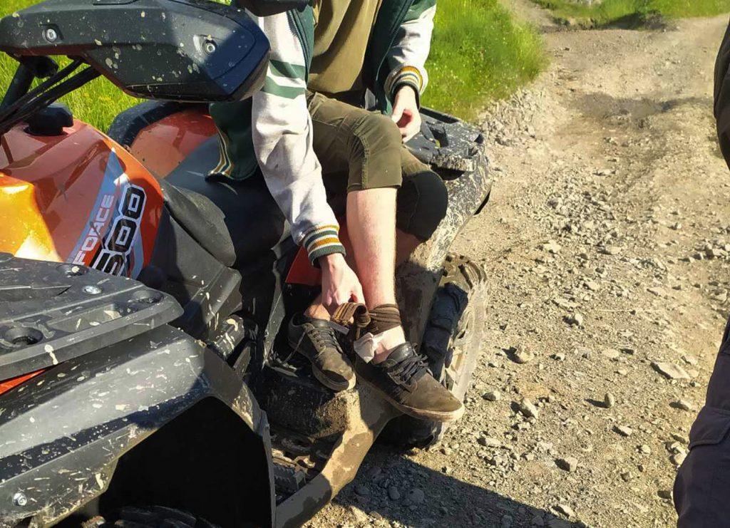 В Закарпатье на 17-летнего парня напала змея