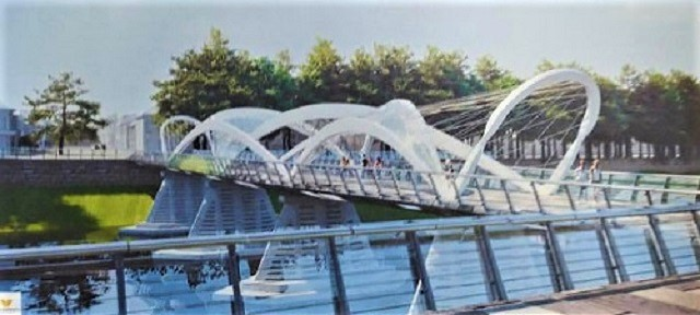 Просто подивіться на ескіз нового мосту в Ужгороді - і офігієте!