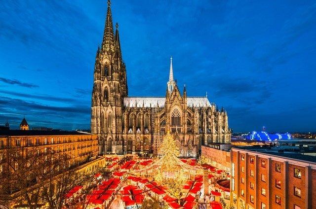Рейтинг новогодних елок в главных европейских городах: 4. Кельн-Германия