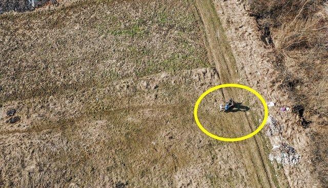 """В Закарпатье паскудников - поджигателей сухостоя """"поймал"""" дрон"""