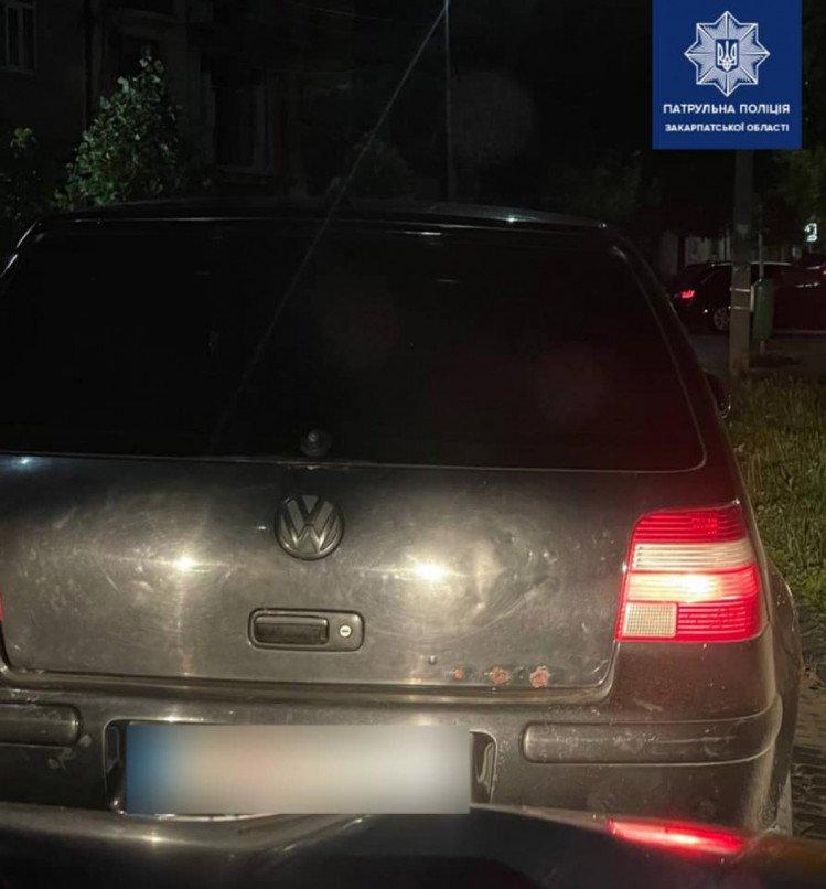В Мукачево водителю на ровном месте выписали штраф в 54 тысячи гривен