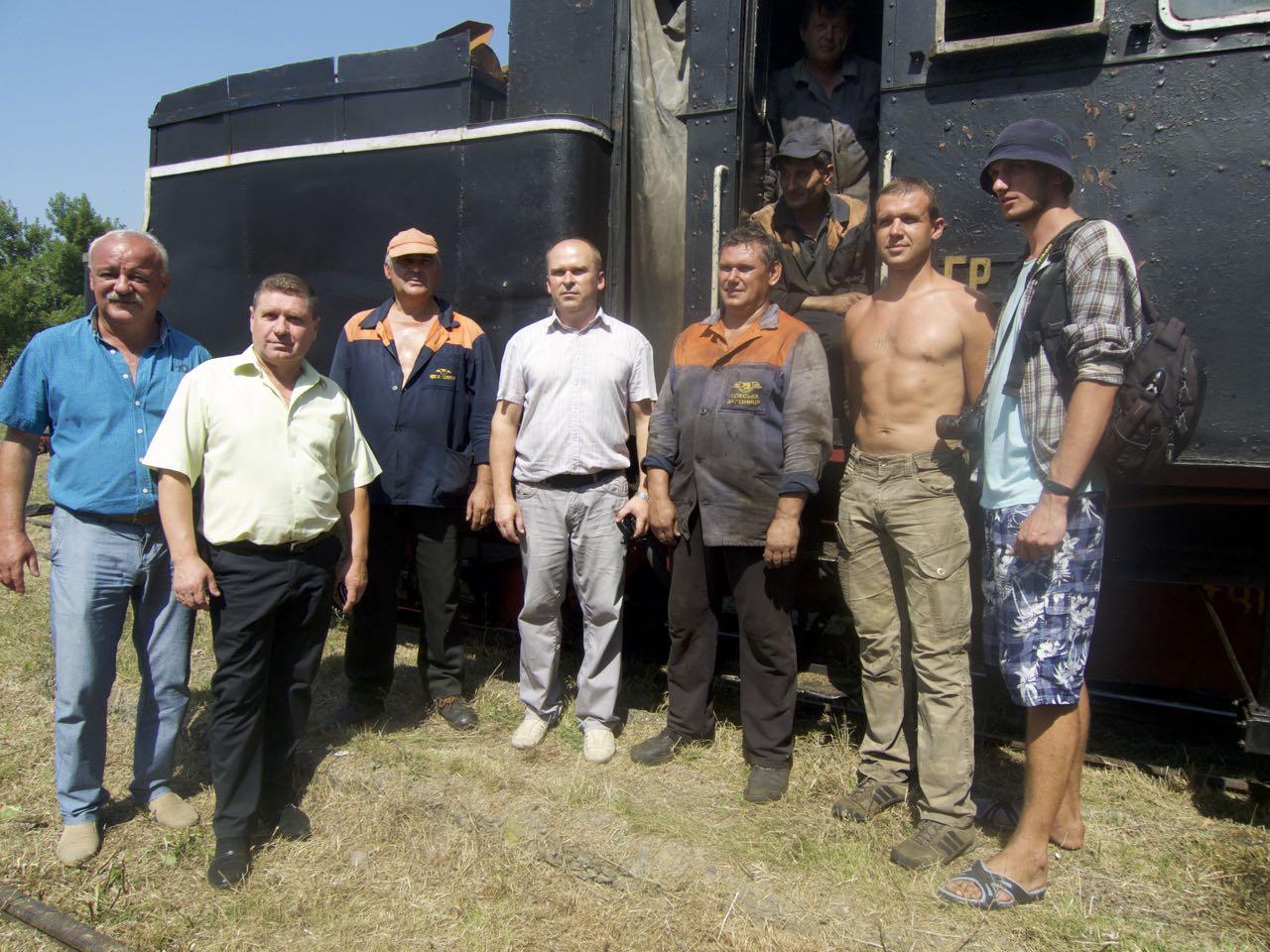Для іршавчан відновлення Боржавської вузькоколійки стало справжнім святом