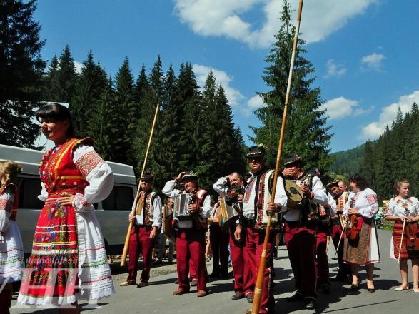 Закарпатське фестивальне свято у Синевирській Поляні