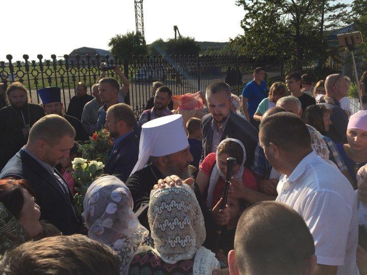 Предстоятель УПЦ Блаженнійший Митрополит Онуфрій прибув на Закарпаття