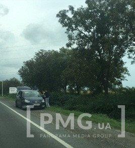 ДТП біля Мукачева з відірваним колесом