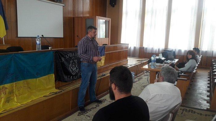 В Берегові пройшли загальні збори учасників АТО Берегівщини – ГО «Комета»