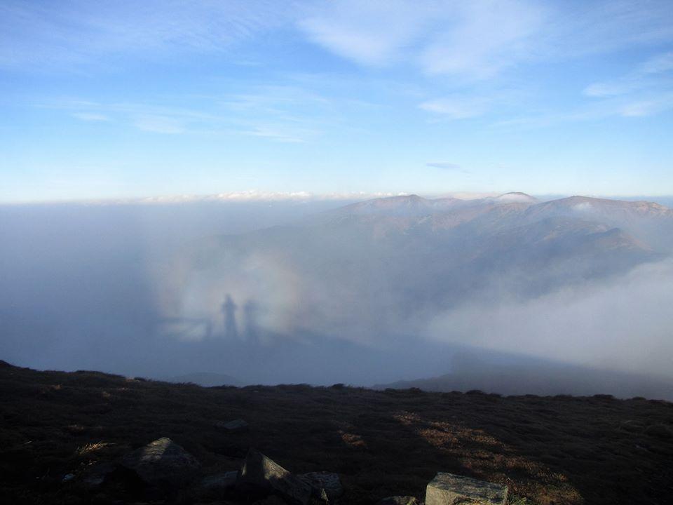 На вершине горы в Закарпатье зафиксировали крайне редкое явление