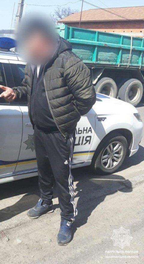 В Мукачево водитель Skoda круто попал, ему грозит огромный штраф