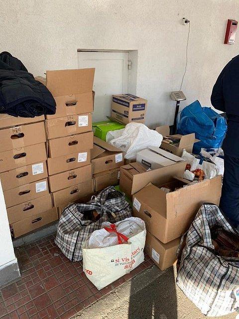 В Закарпатье на КПП Тиса пресекли контрабанду деликатесов из Италии