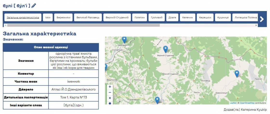 В Ужгородському нацуніверситеті студенти витворили унікальну карту діалектів Закарпаття — інтерактивну!