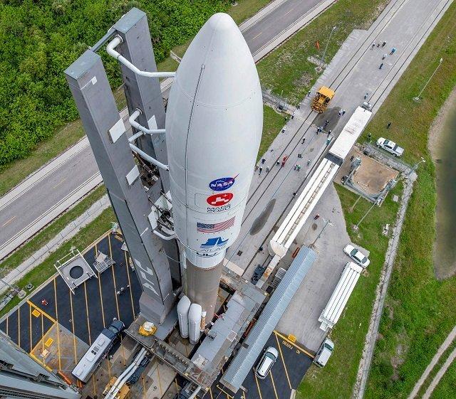 NASA успешно запустило еще один марсоход для исследования Красной планеты