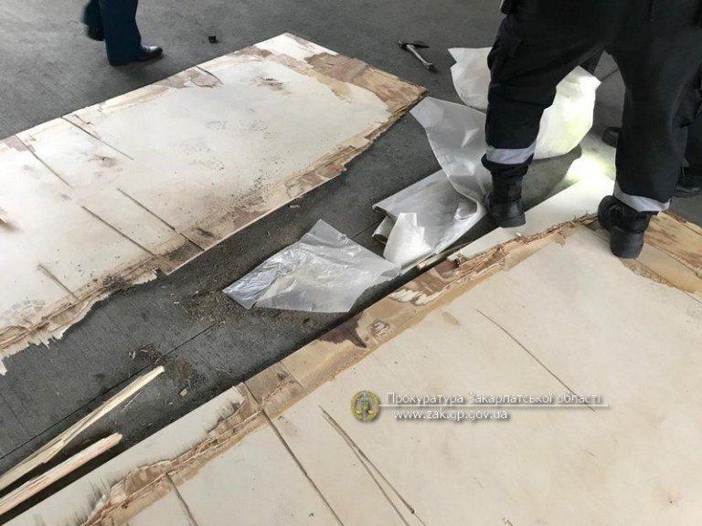 асштабная контрабанда героина: Из Закарпатья пытались вывезти 374 кг. особо опасного наркотика