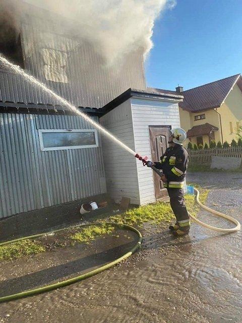 В Польше сгорел дотла хостел, где проживали украинские заробитчане
