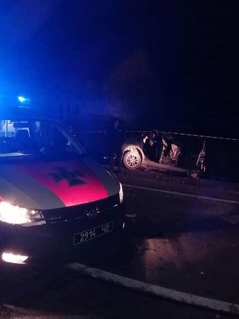 Смертельная авария в Закарпатье: Полиция устанавливает обстоятельства столкновения Ford Kuga и фуры MAN