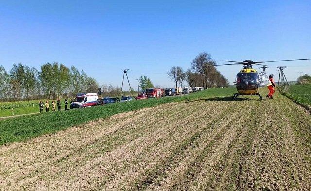 В Польше 63-летняя украинка выехала на встречку, погиб 9-летний мальчик