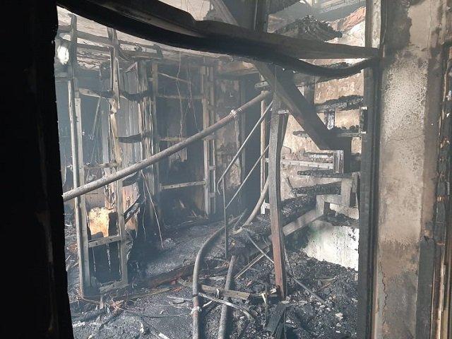 В Виннице сгорел офисный центр: погибла оказавшаяся в ловушке девушка