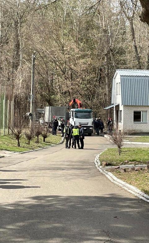 Полиция устроила облаву на охранную фирму, связанную с Медведчуком, фото liga.net