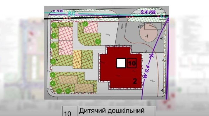 Влада Ужгорода землю, де мав з'явитися новий дитсадок, фактично вкрала