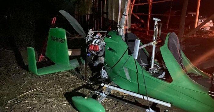 Затриманим на Закарпатті гіропланом керував контрабандист із зеленими погонами