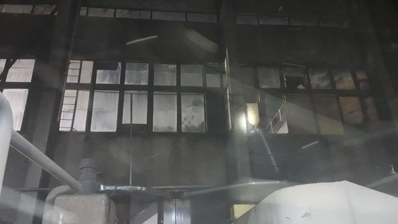 Огонь в Закарпатье мог полностью уничтожить большое предприятие