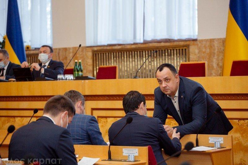 Нова Закарпатська облрада проводить 2-ге пленарне засідання своєї першої сесії