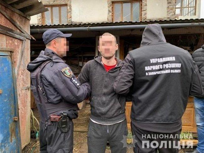 В Закарпатье задержали убийцу, которому суд вынес приговор за смертельное избиение мужчины