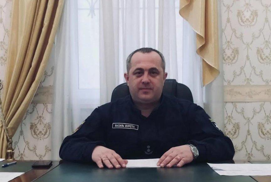 """Новый начальник Нацполиции """"пограничной"""" Береговщины Василий Вурст."""