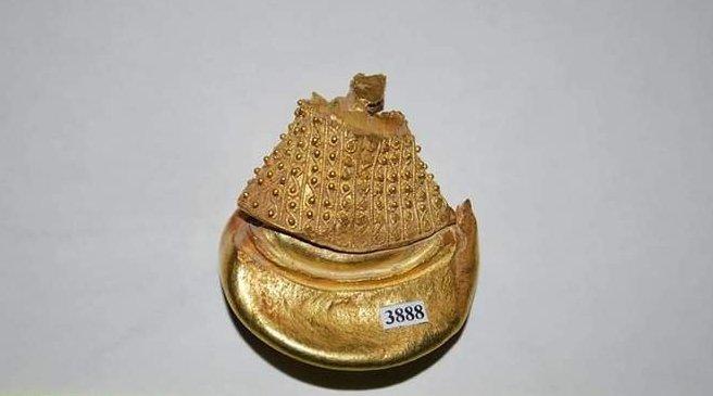 Великолепный золотой клад нашли в сакральном центре даков в Закарпатье