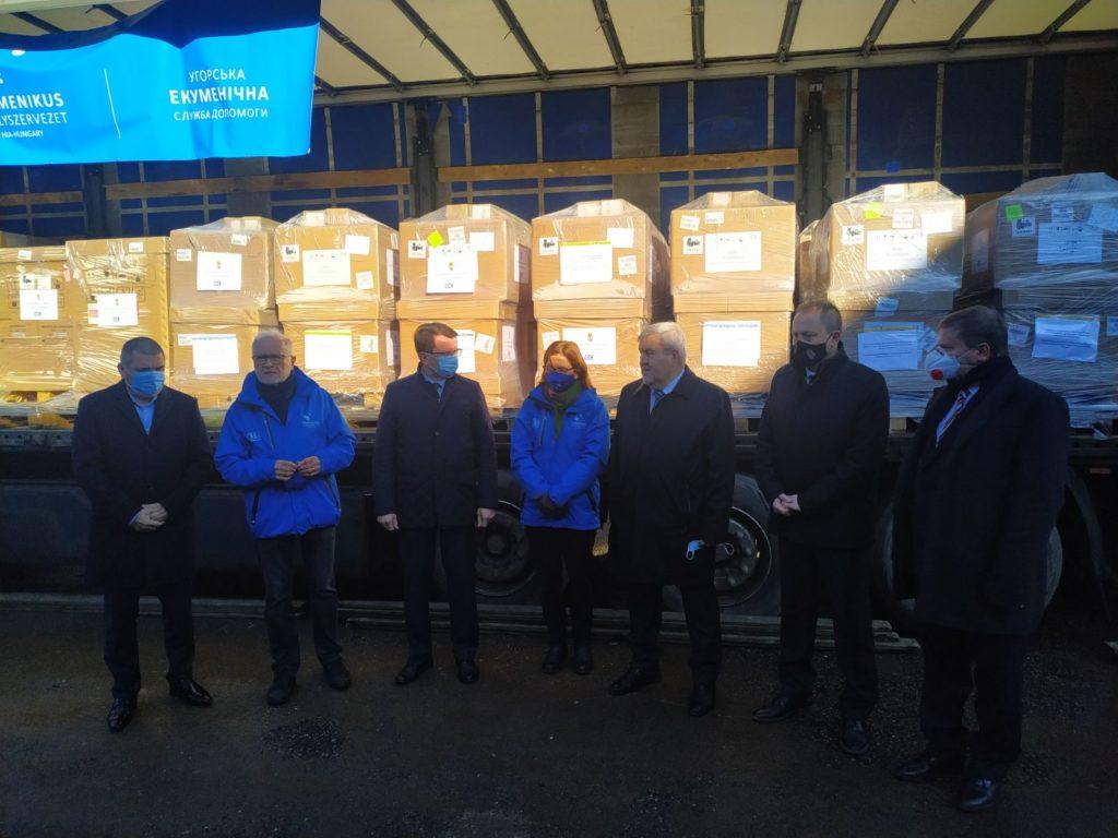 Угорщина передала на Закарпаття півсотні апаратів ШВЛ для 46-ти медзакладів України