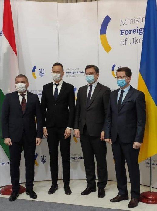 """Кулеба: """"Немає жодних підстав вважати, що українські угорці схильні до сепаратизму..."""""""