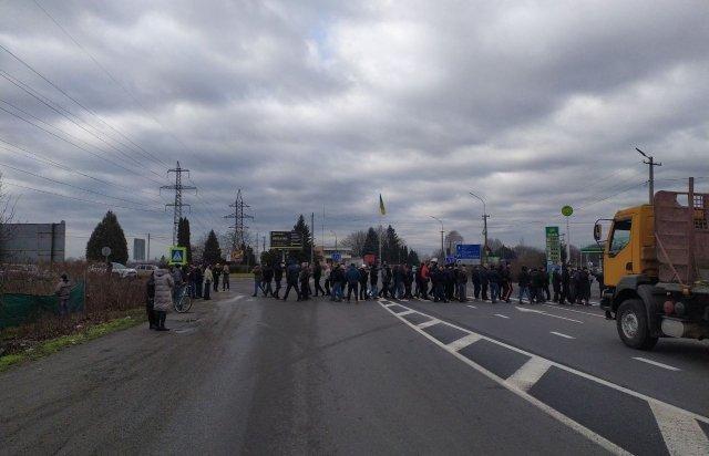 Антитарифні настрої вивели не перекриття міжнародної траси населення закарпатського Мукачево