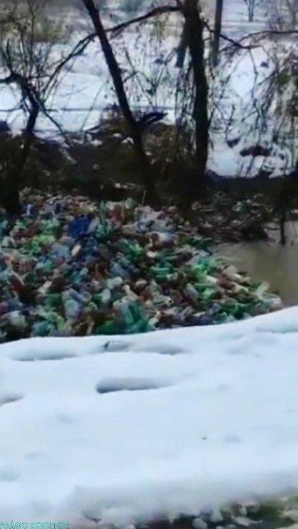 Річками Закарпаття пливуть гори пластикового хламу