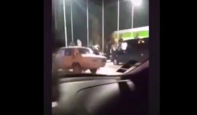 Автозаправка стала місцем шаленої автопригоди на Закарпатті