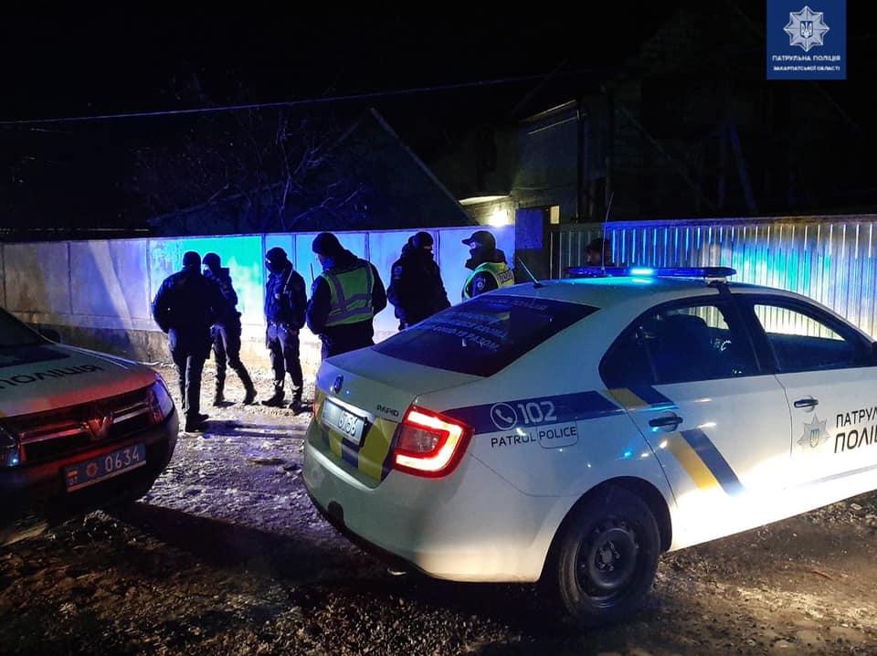 Субботняя стрельба в Закарпатье - стрелок задержан