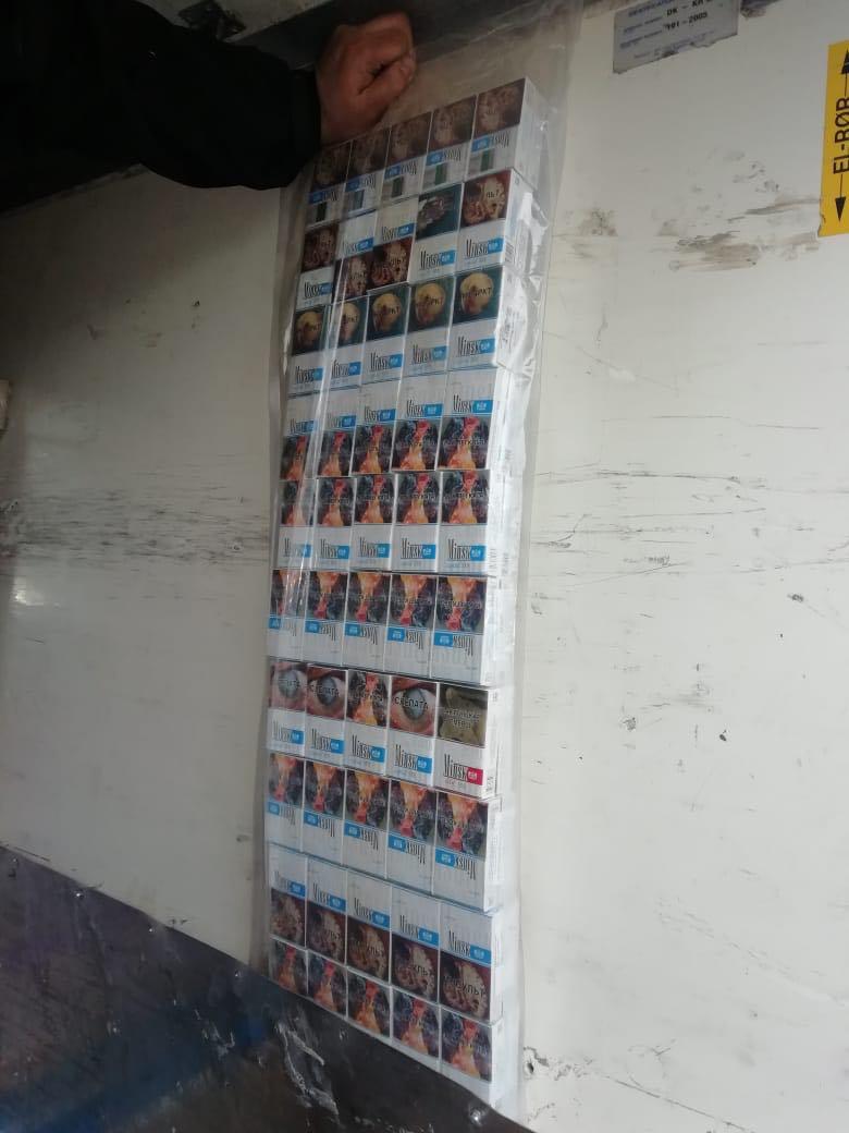 В Закарпатье под конец года обнаружили рекордную партию контрабанды сигарет