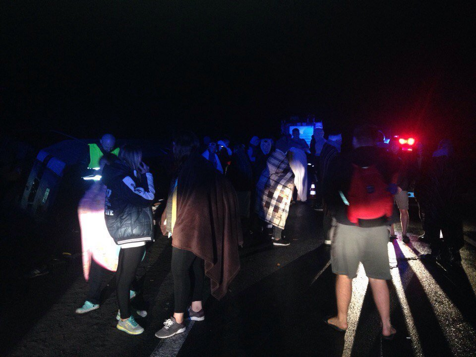 У ДТП з автобусом у Карпатах постраждали 5 членів збірної України з самбо