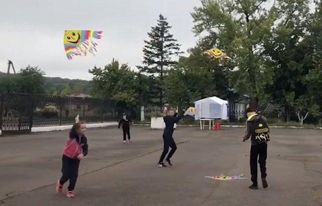 В областном центре Закарпатья прошел фестиваль воздушных змеев