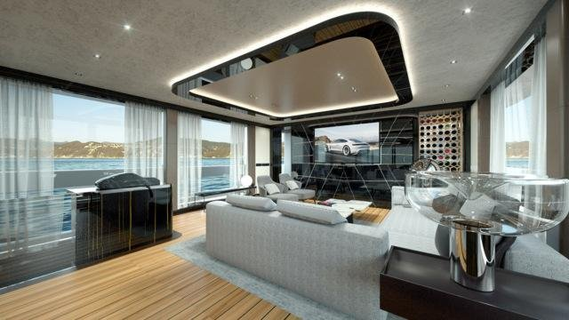 Элитная яхта от компании «Porsche»