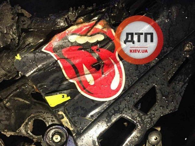 Смертельное ДТП под Киевом: Мотоциклист не справился с управлением и врезался в иномарку