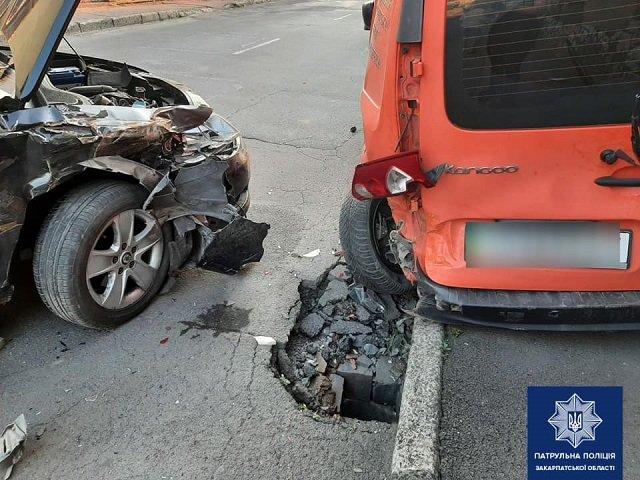 Сегодня, 25 июля, в Мукачево произошло ДТП.