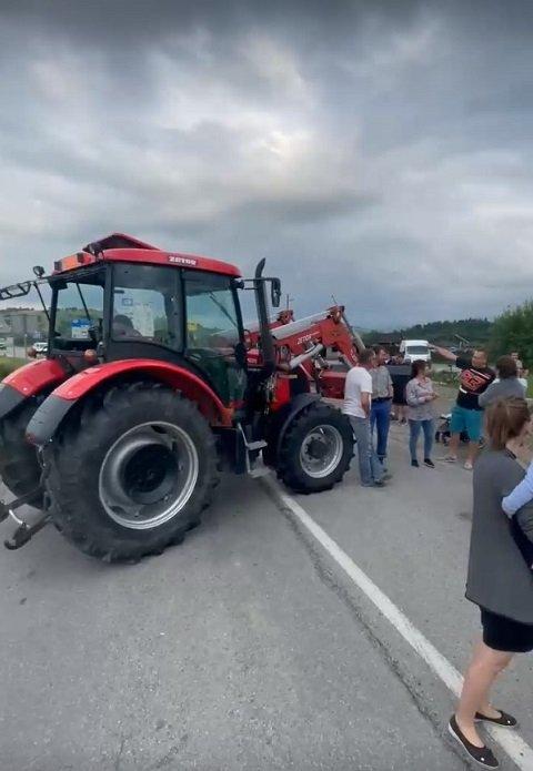 В Словакии протестующие заблокировали несколько погранпереходов