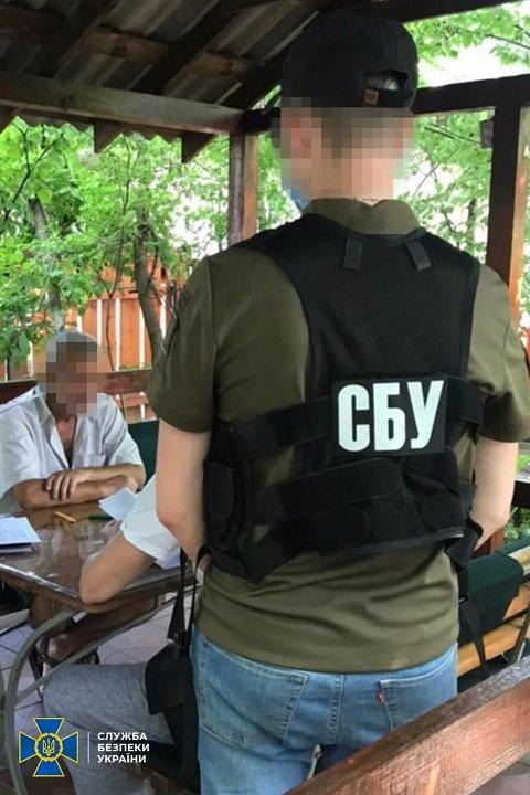 В Черкасской области во время получения секретной информации задержали российского шпиона